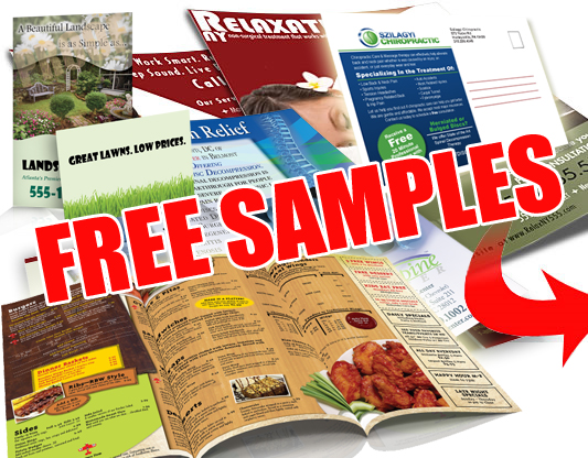 Free Samples, Mailed Next Business Day!